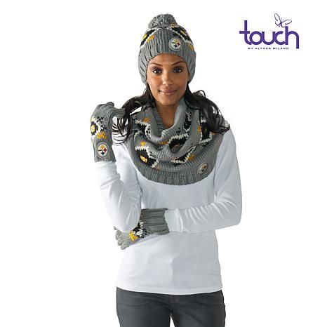 Shop Touch by Alyssa Milano Officially Licensed NFL Fair Isle Knit ...