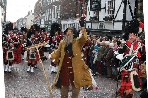 rochester dickensian christmas festival visit medway - Dickens Christmas Festival