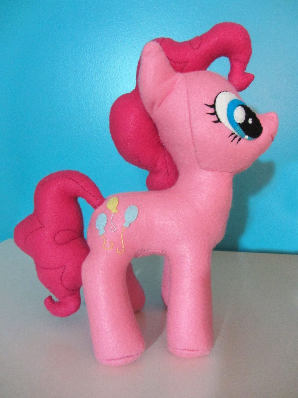 My Little Pony 'pinkie Pie' Plushie Free Pattern By Voodoo Tiki