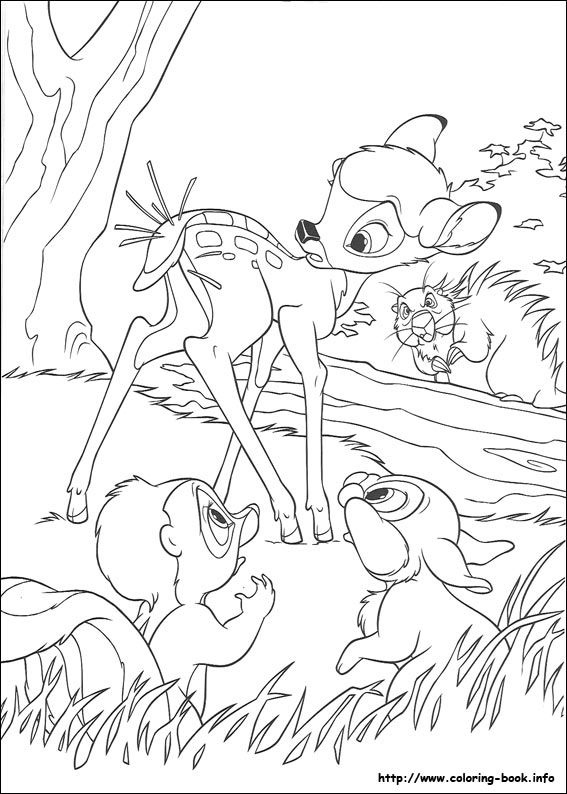 Bambi 2 coloring picture | Disney Coloring Pages | Pinterest | Journal