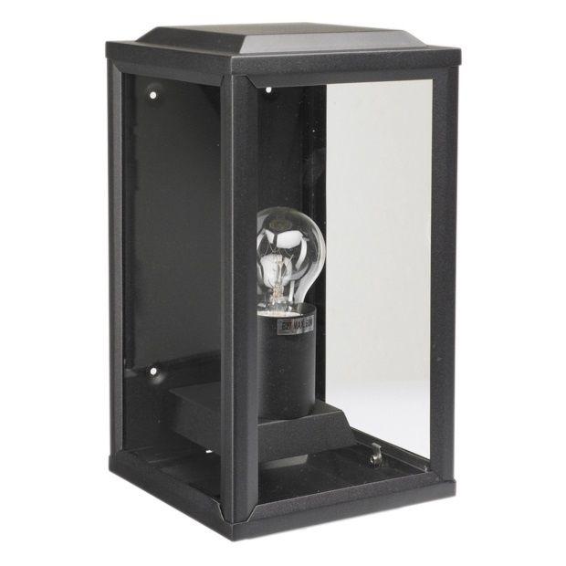 K.S. Verlichting \'T Gooi Wandlamp 28 x 12 cm - Zwart - afbeelding 1 ...