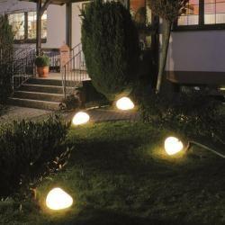Epstein Steinleuchten in weiß 50,00 cm 80505 Epstein-DesignEpstein-Design #modernegärten