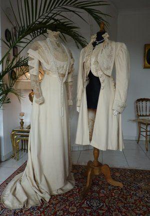Jugendstil-Kleid, Jugendstilkleid, Kleid aus dem ...