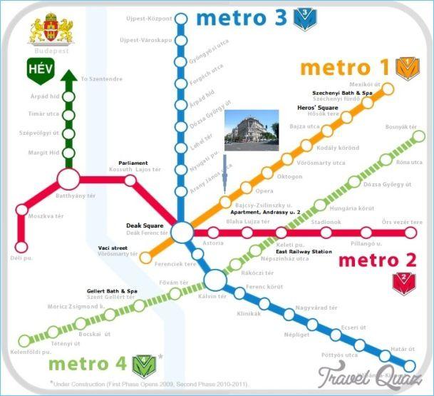Budapest Metro Map httptravelquazcombudapestmetromap2html