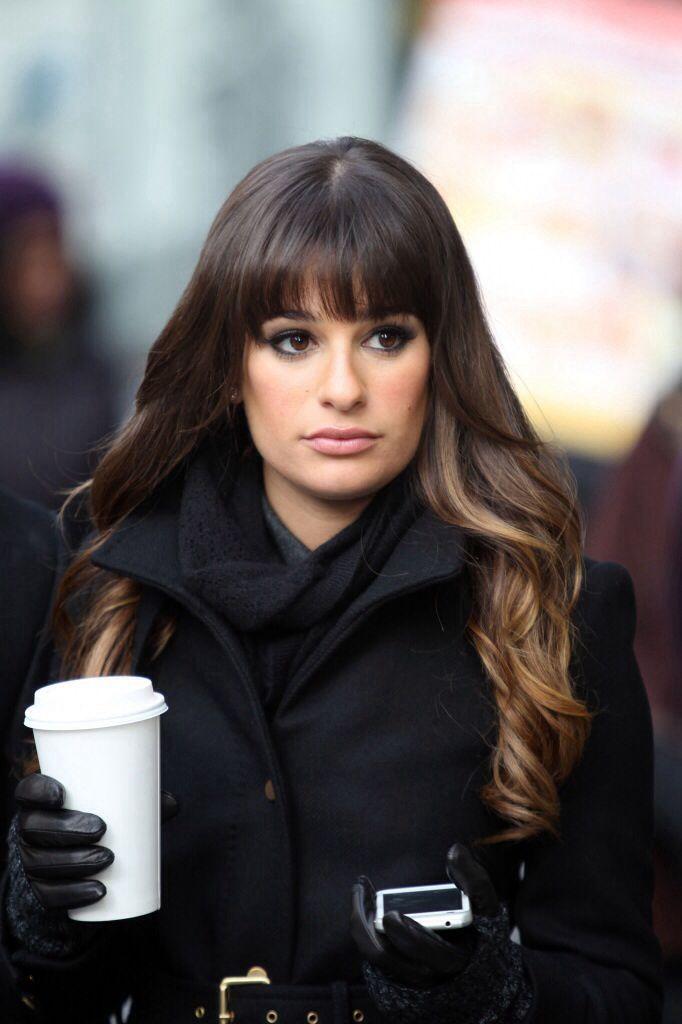 Lea Michele Hair Style Color Cut Updos Pinterest Lea