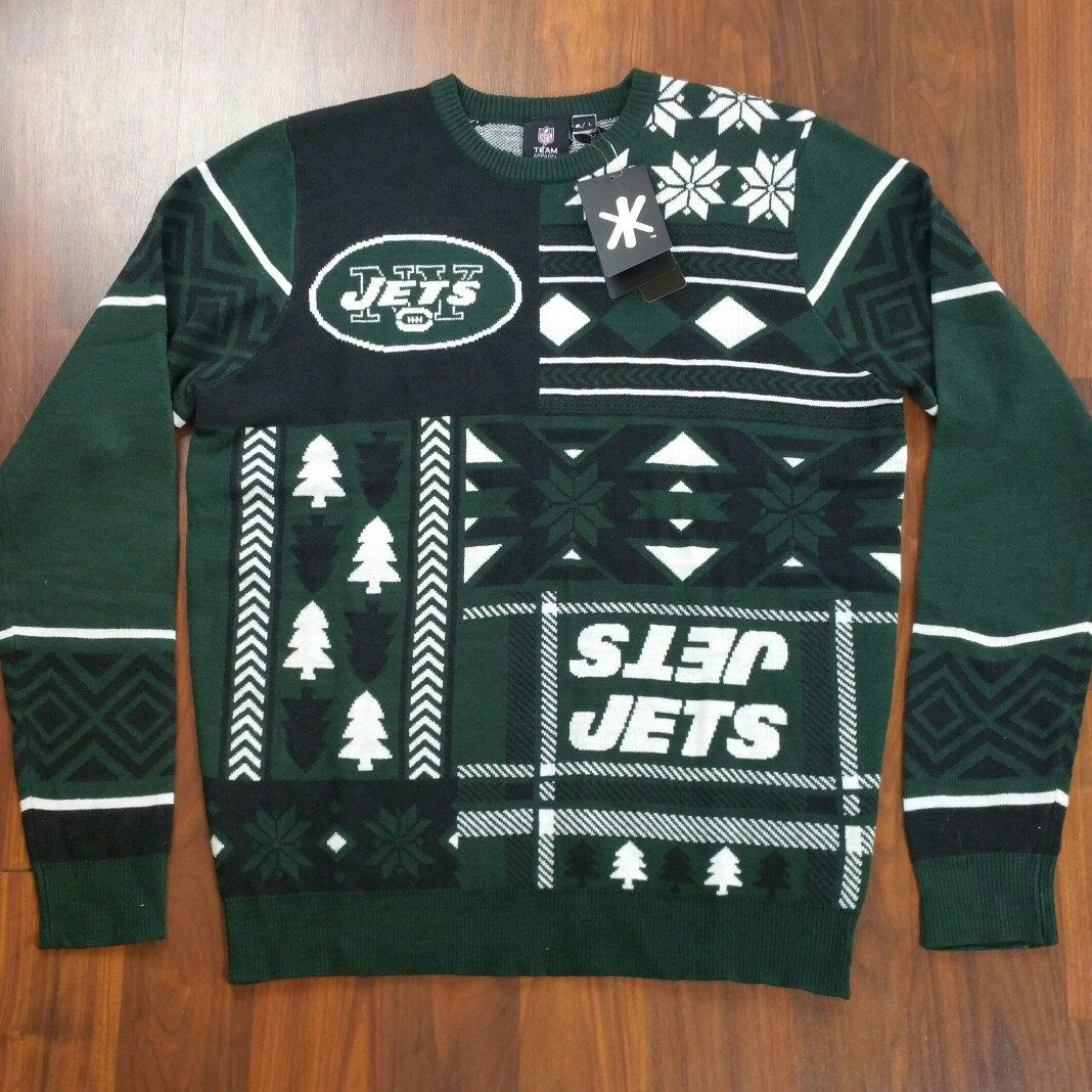 Good Morning, Everyone! This awesome, New York Jets Ugly Christmas ...