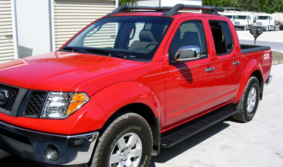 Factory Style Running Boards Nissan Frontier King Cab 2005 2015