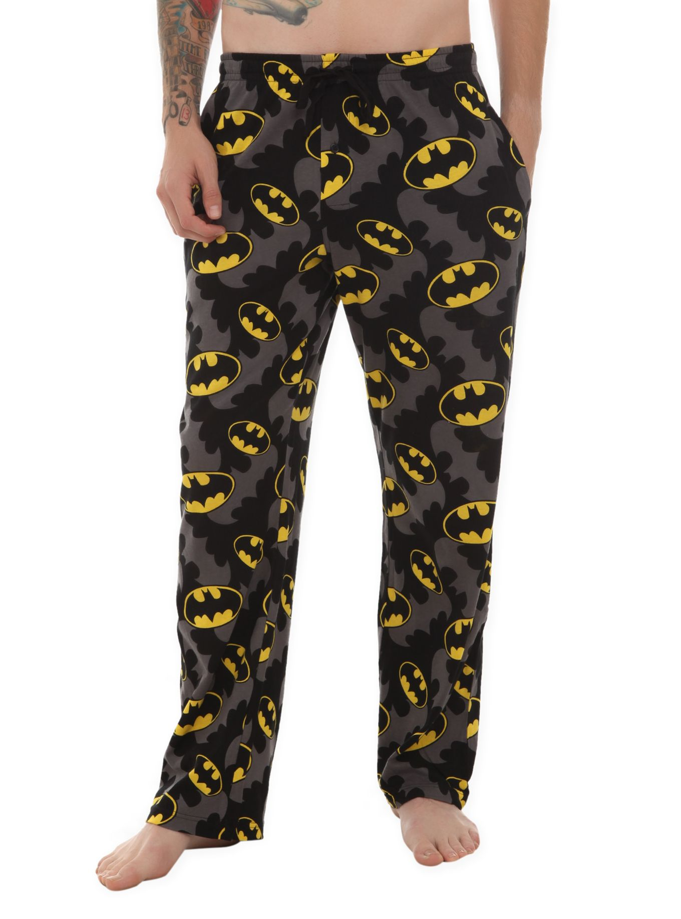 Mens Batman Pyjamas DC Comics Various Designs