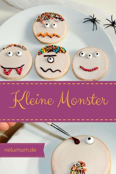 Süße Monster zu Halloween - NeLuMum #easycostumesformen