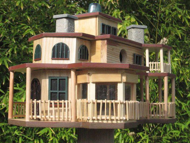 Custom Birdhouse 607 Bird House Decorative Bird Houses Bird Houses