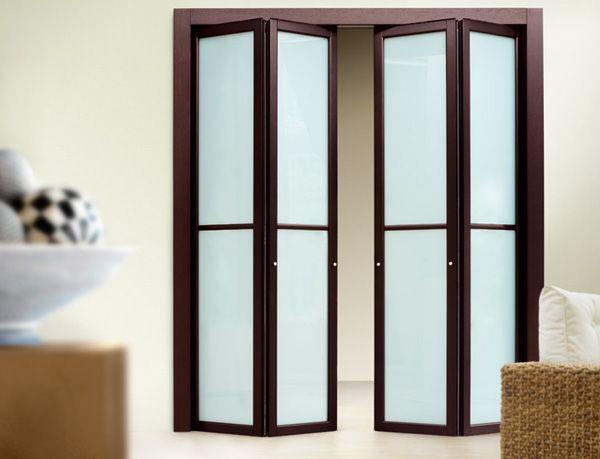 Modern Bifold Glass Closet Doors Favoritizm Com Folding Doors Glass Closet Doors Glass Closet