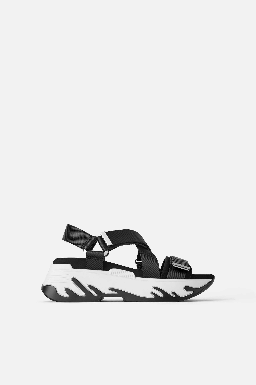 Platform sandals, Sport sandals