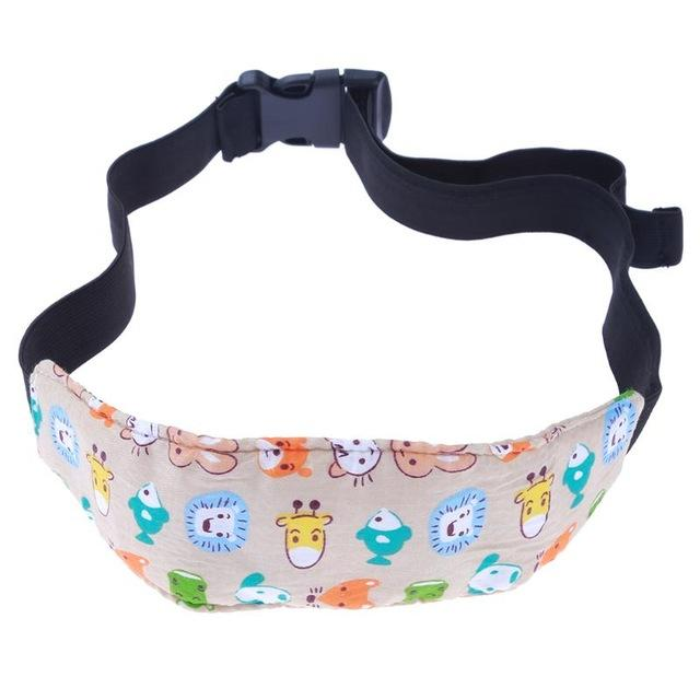 8a746de013b Cute Baby Stroller Seat Safety Nap Aid Head Band Support Holder Belt Pad  Strap.