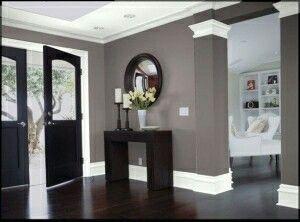 Living Room Dining Color Palette Mantel Dark