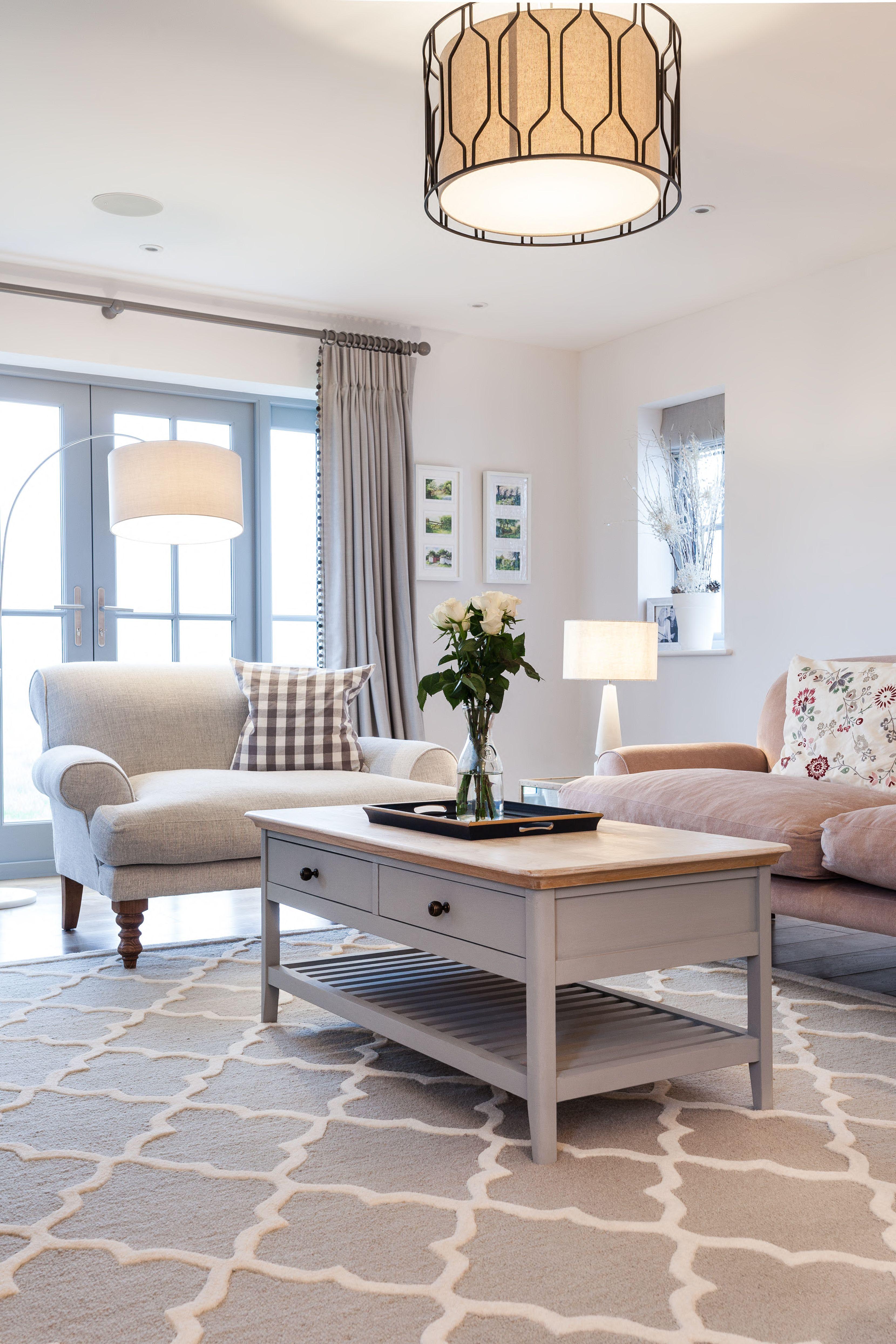 Living room interior design home decor inspiration pastel sofa coffee table interiors