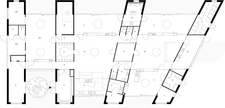 plans design Hestia buidling