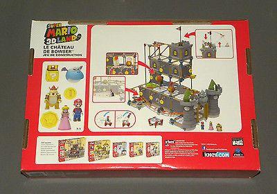 Details About K Nex Super Mario 3d Land Bowser S Castle