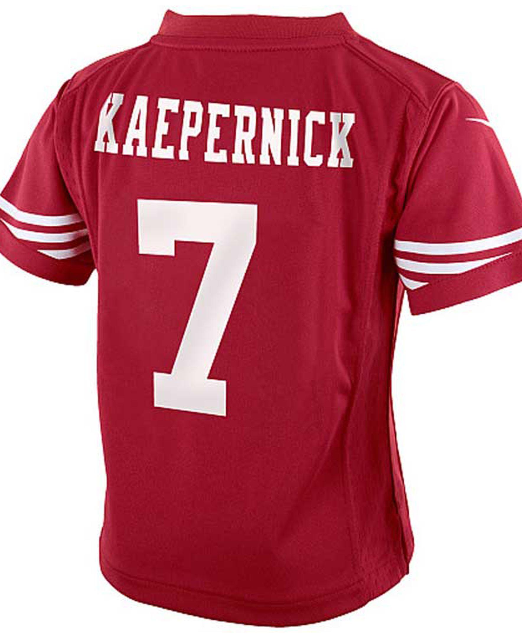 0073625c Nike Kids' Colin Kaepernick San Francisco 49ers Jersey | Products ...