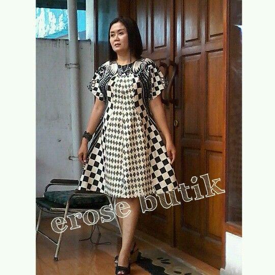 Batik Tulis Dress: Erose Butik -batik Tulis Sinaran
