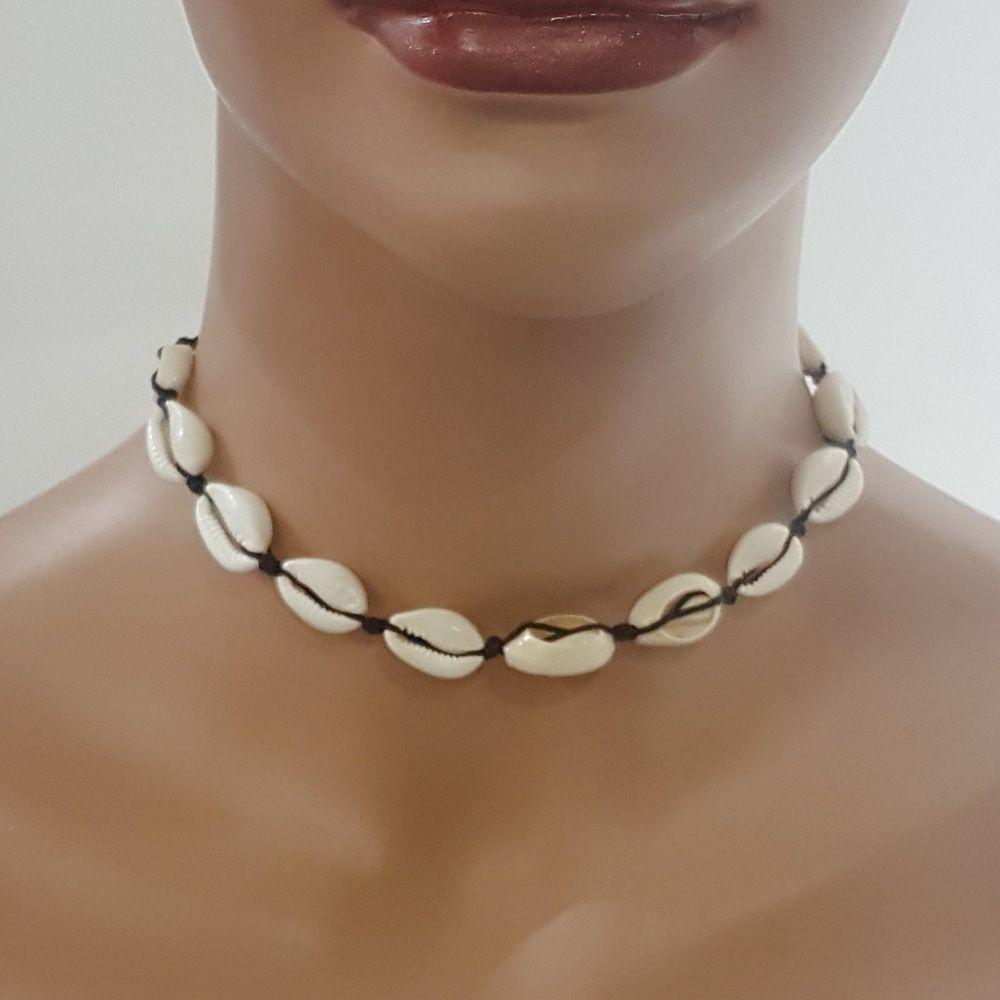 سلسال وعقد اصداف الجديد متوفر 4 الوان مختلفه خيط قابل للشد والتحكم بالقياس سلسال سلاسل اكسسوارات جديد صدف اصداف S Necklace Chain Necklace Jewelry