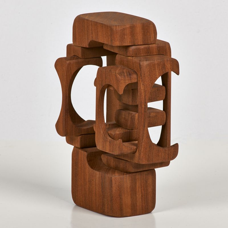 mahogany sculpture | Abstract Bas Relief & Wooden Sculpture ...