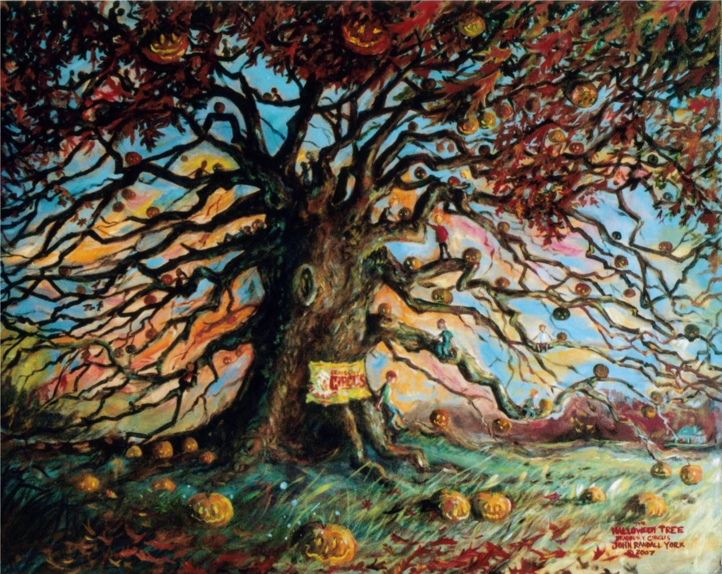 the halloween tree is a 1972 fantasy novelamerican author ray