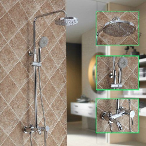 Pin By Clarisse Fryrear On Shower Shower Faucet Sets Wall Mount