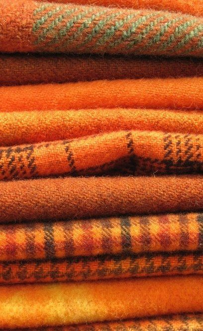 The use of orange and brown works very well together as a clean palette | The House of Beccaria