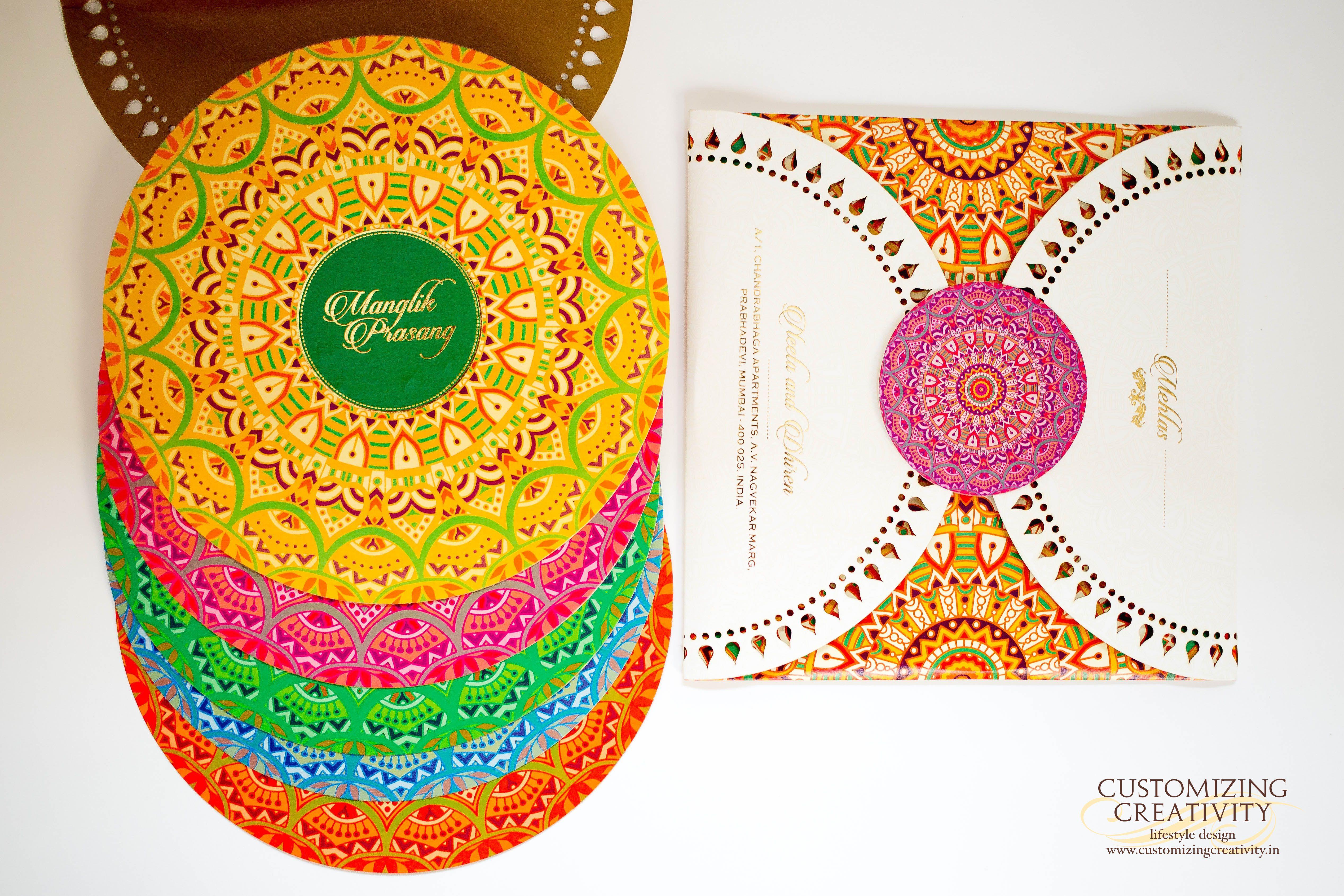 Wedding Invitation cards, Indian wedding cards, invites, Wedding ...