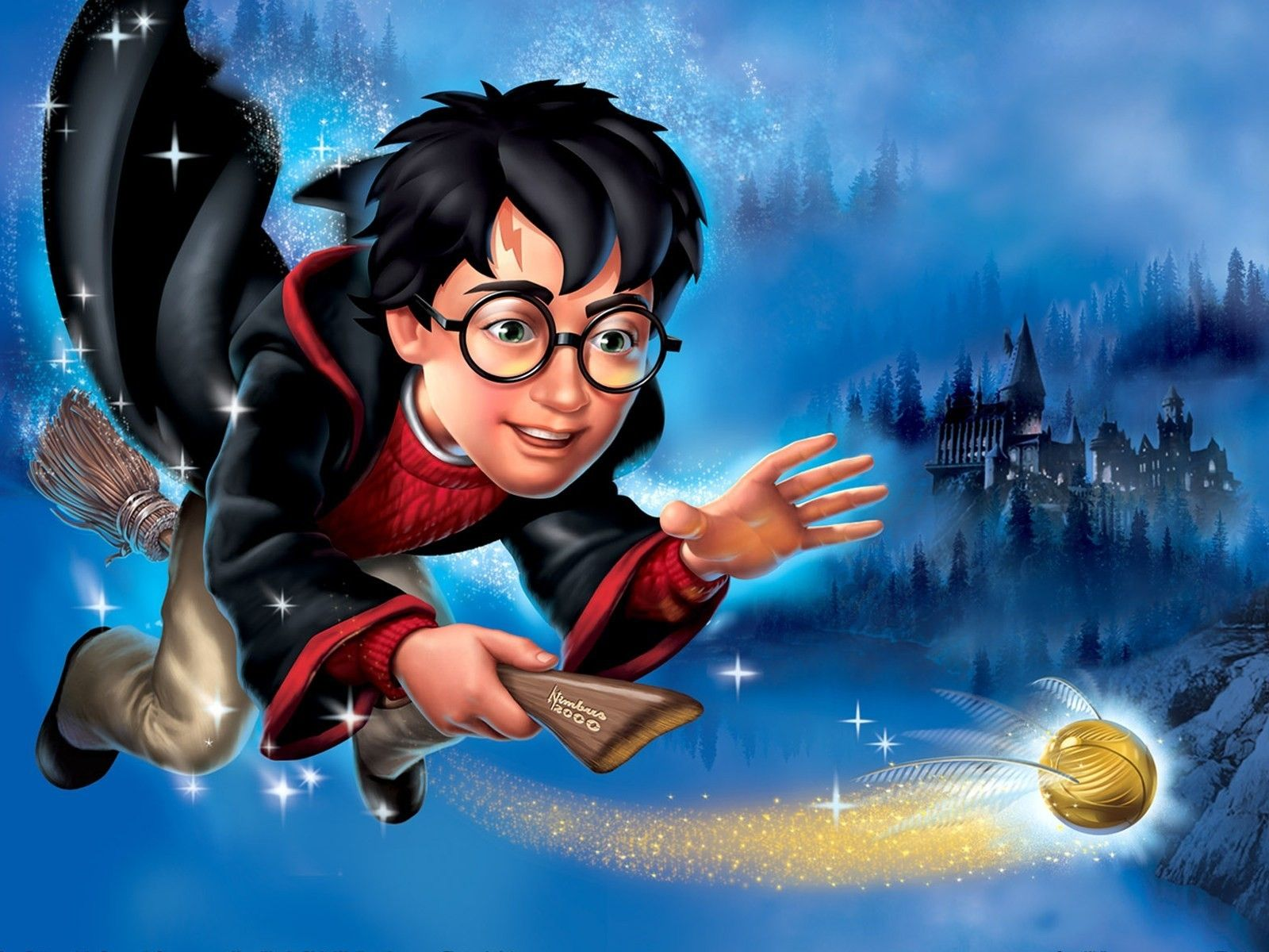 Free Moving Wallpaper Free Download Animated Desktop Wallpaper For Windows Xp Harry Potter Cartoon Harry Potter Free Harry Potter Wallpaper