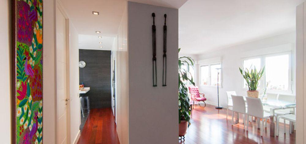 Decoracion #tropical #comedor #cocina #sala de estar #sillones ...