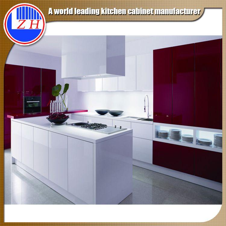 India Paint Colors Melamine Mdf Plywood Modular Kitchens Cabinets