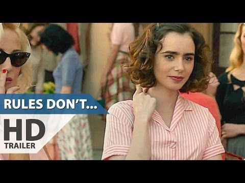Rules Don T Apply Trailer Lily Collins Alden Ehrenreich Romance Movie 2016 Lily Collins Romance Movies Movie To Watch List