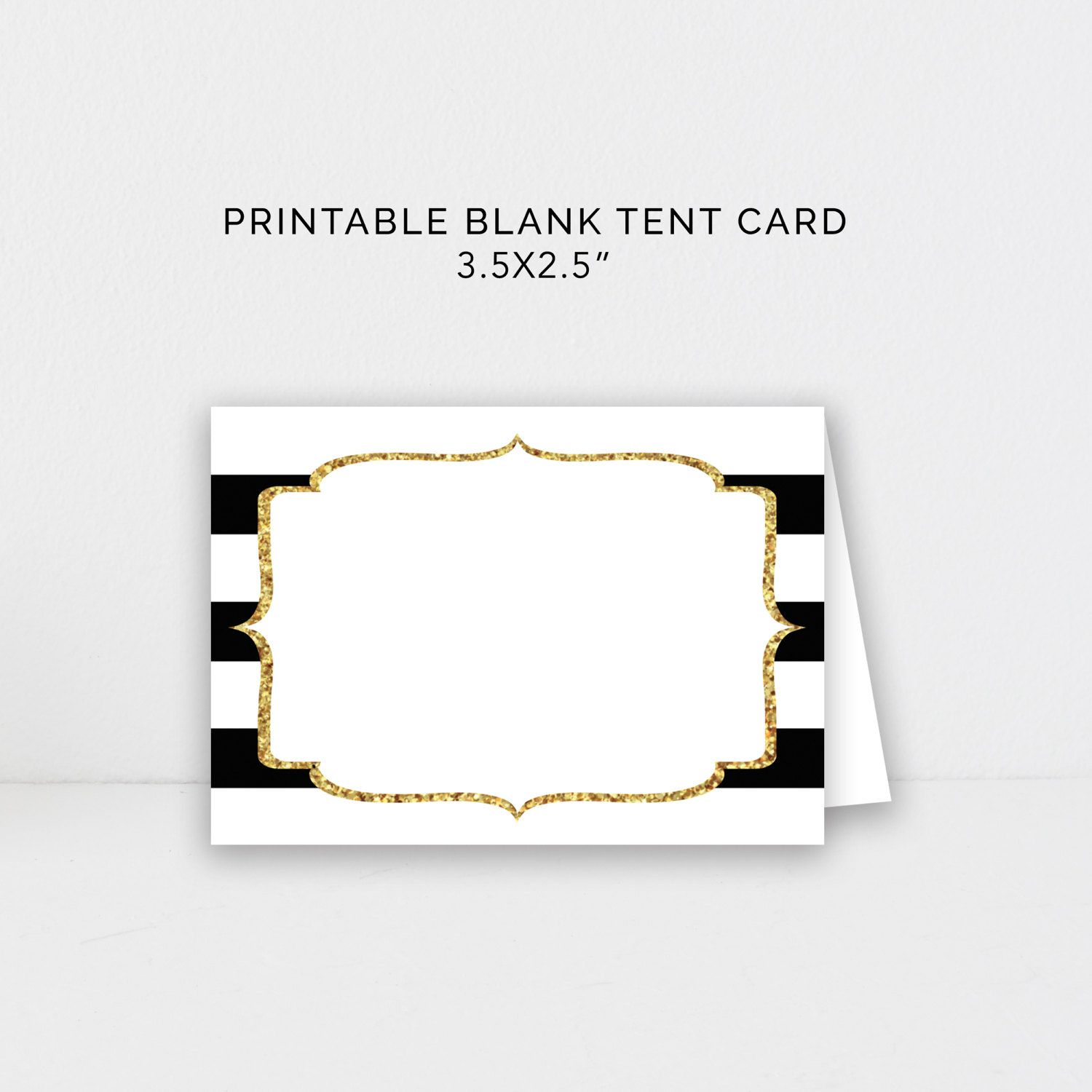 Kate Spade Black and Gold Party Food Tent Template & Kate Spade Black and Gold Party Food Tent Template | Kate Spade ...