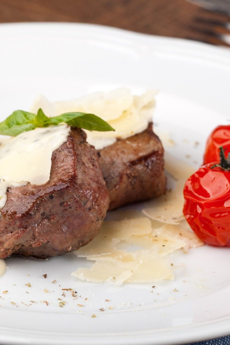 Lobster-Stuffed Beef Tenderloin with Bearnaise Sauce Recipe More