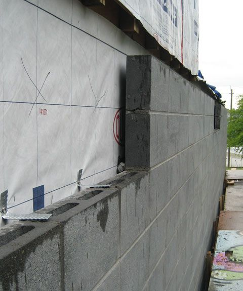 Concrete Block Wall 02 Concrete Block Walls Building A House Concrete Blocks