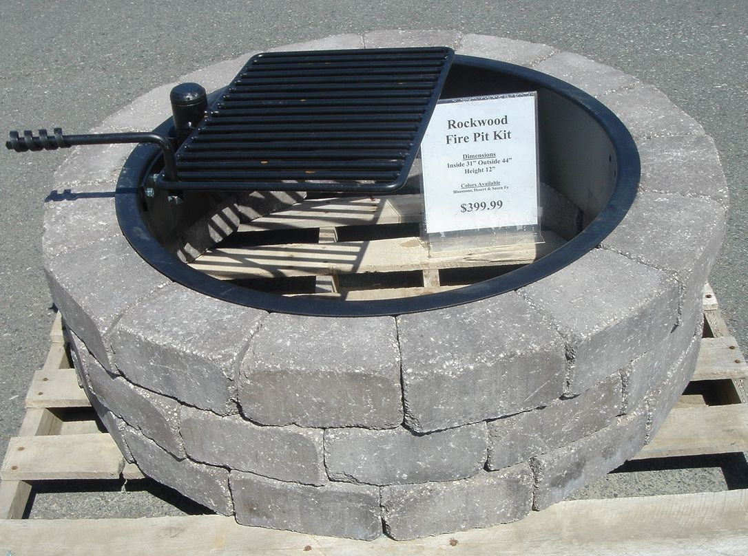 Factors to Consider in Metal Fire Pit Ring : Metal Ring Fire Pit. - It Is A Pit That Has A Stone Around It So You Don't Have To Worry