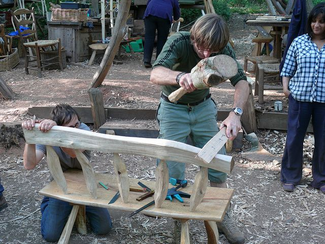 Beautiful Greenwood Furniture Making Is A Precise Science | Flickr   Photo Sharing! |  Bushcraft | Pinterest | Furniture, Furniture Making And Photos