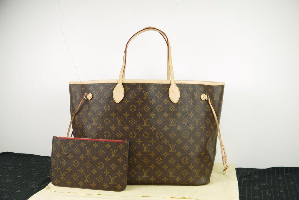 Pre-loved Louis Vuitton Neverfull GM Monogram Canvas Cherry Women s Tote Bag 1b592a3413916