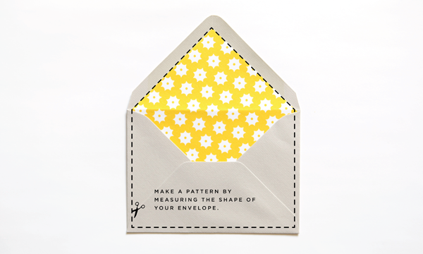 Printables Diy Envelope Liners  Envelopes Diy Envelope Liners