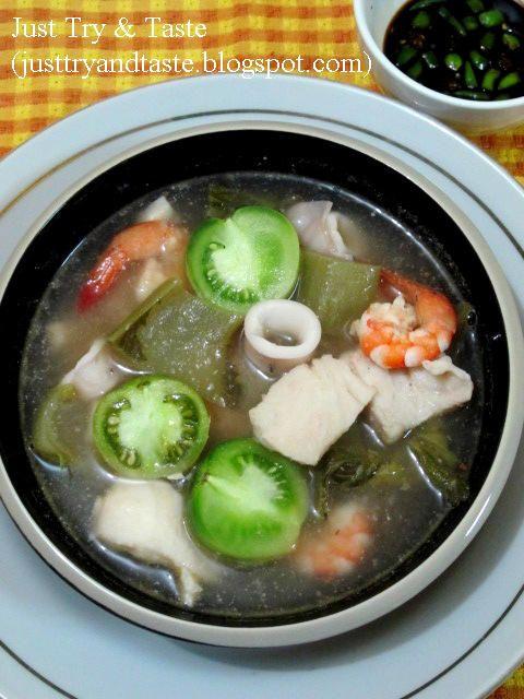 Sup Seafood Batam Sup Seafood Resep Sup Resep Seafood
