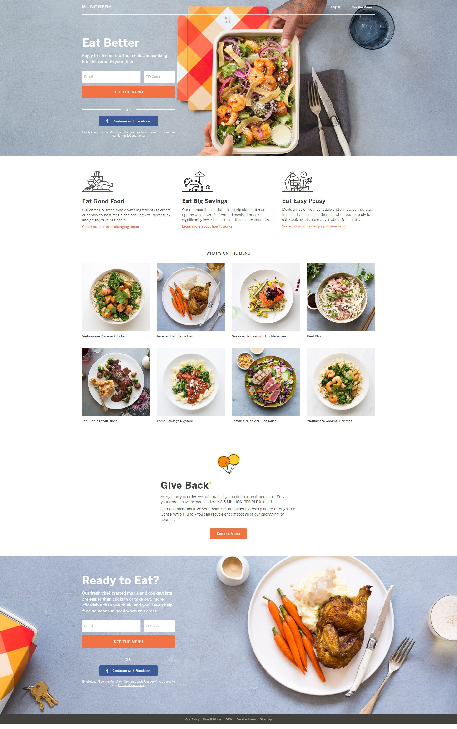 Pin by Jonathan Lutz on Web Design Inspiration | Best food delivery