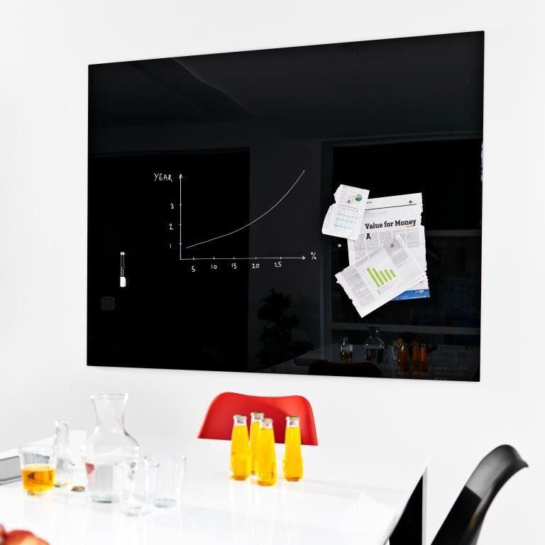 NAGA Magnetic Glass Noticeboard 150x120cm
