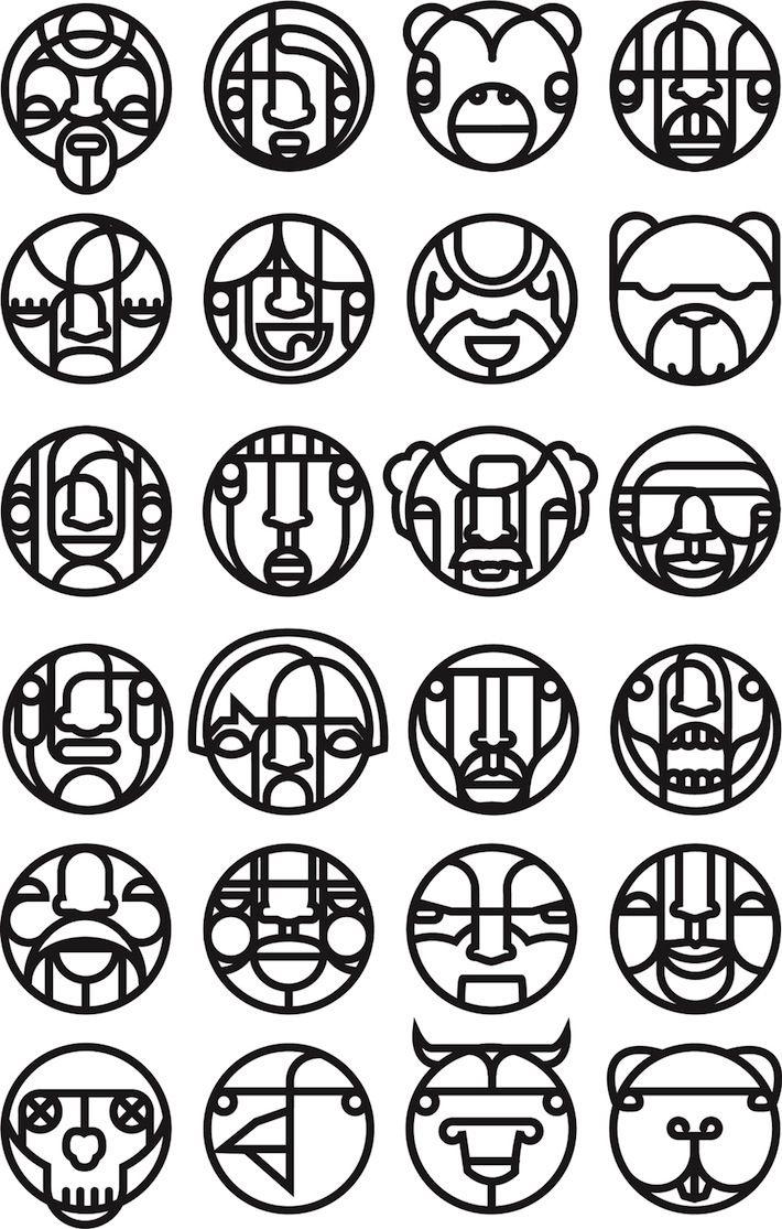 faced dingbat font (With images) Dingbat fonts