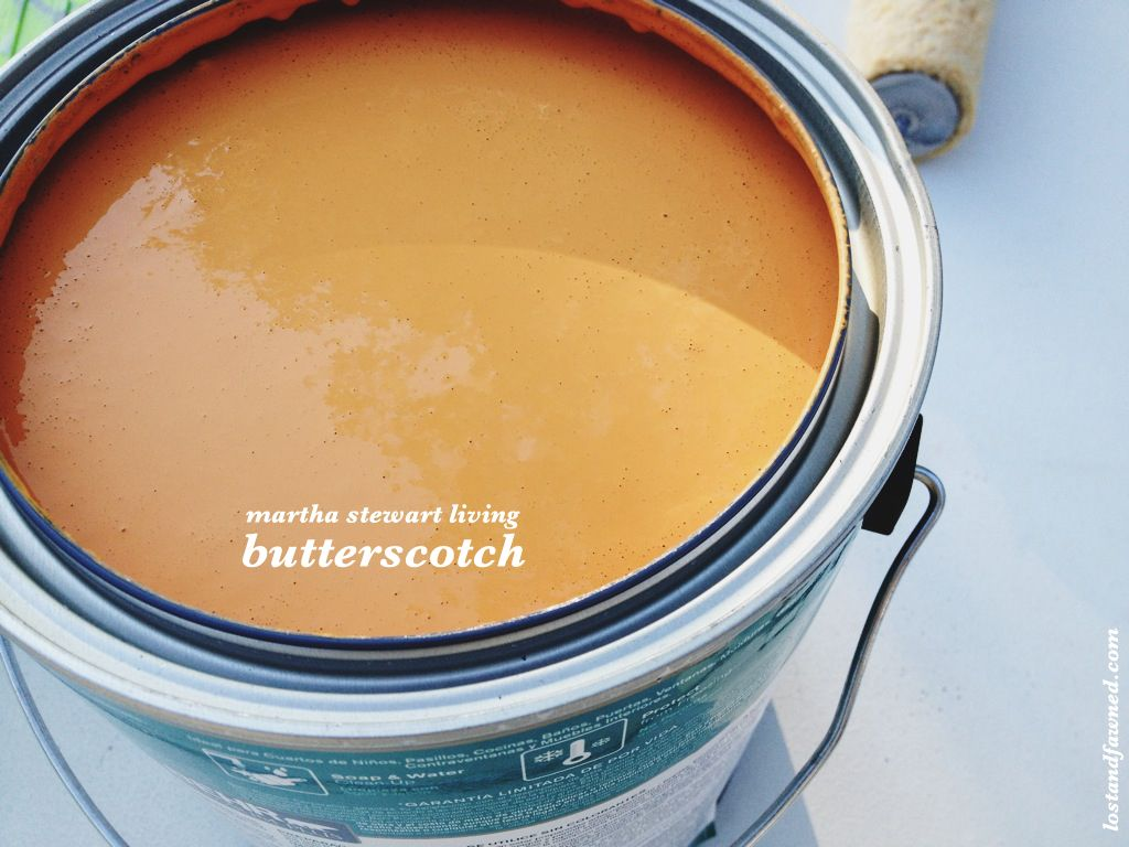 Martha Stewart Living Butterscotch For
