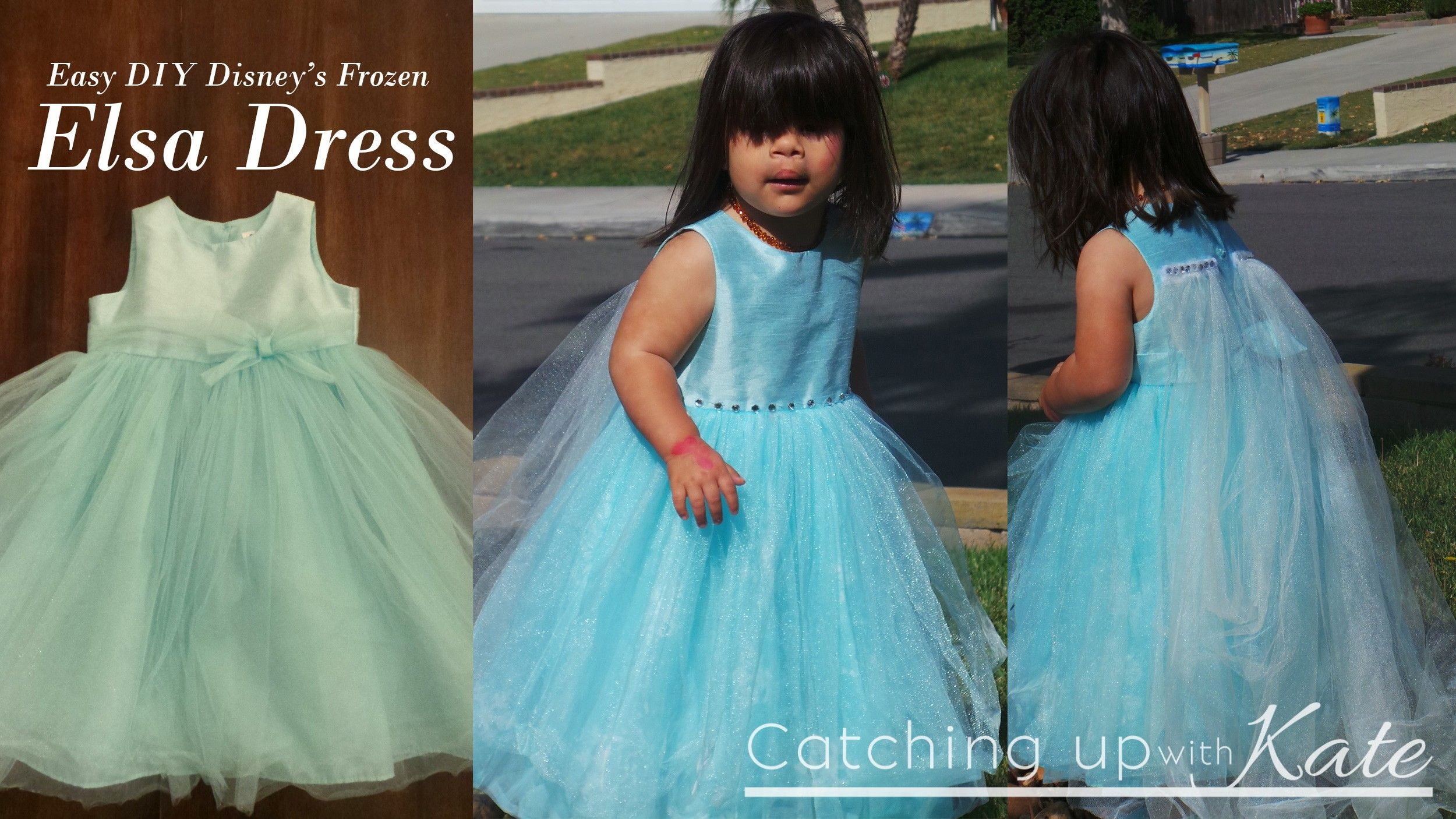 We turned a $6 thrift shop dress into a Frozen inspired Elsa the Ice ...