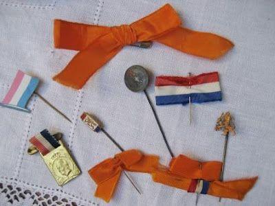Antique Dutch Queensday Memorabilia