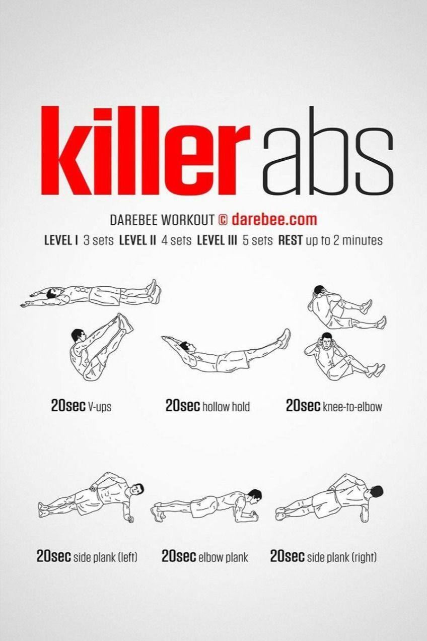 Killer Abs Workout For Men