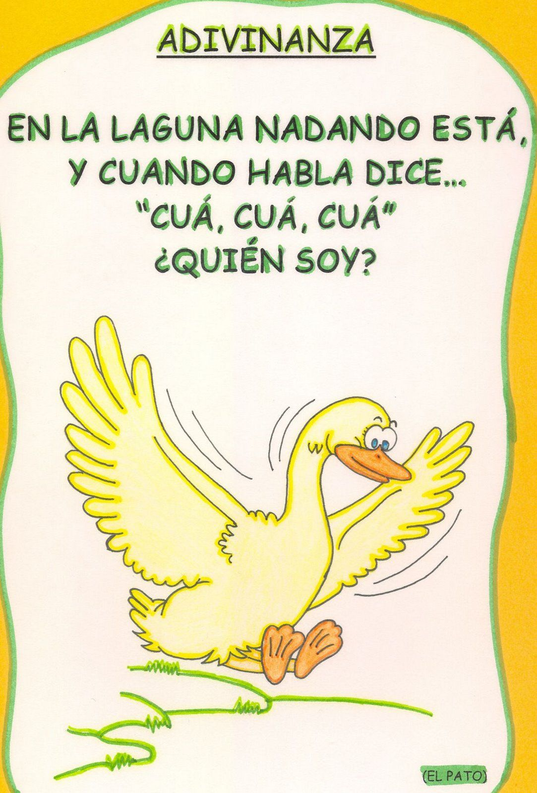 Adivinanzas Cosas Buscar Con Google Learning Spanish Speech And Language Learn Spanish Bucket List