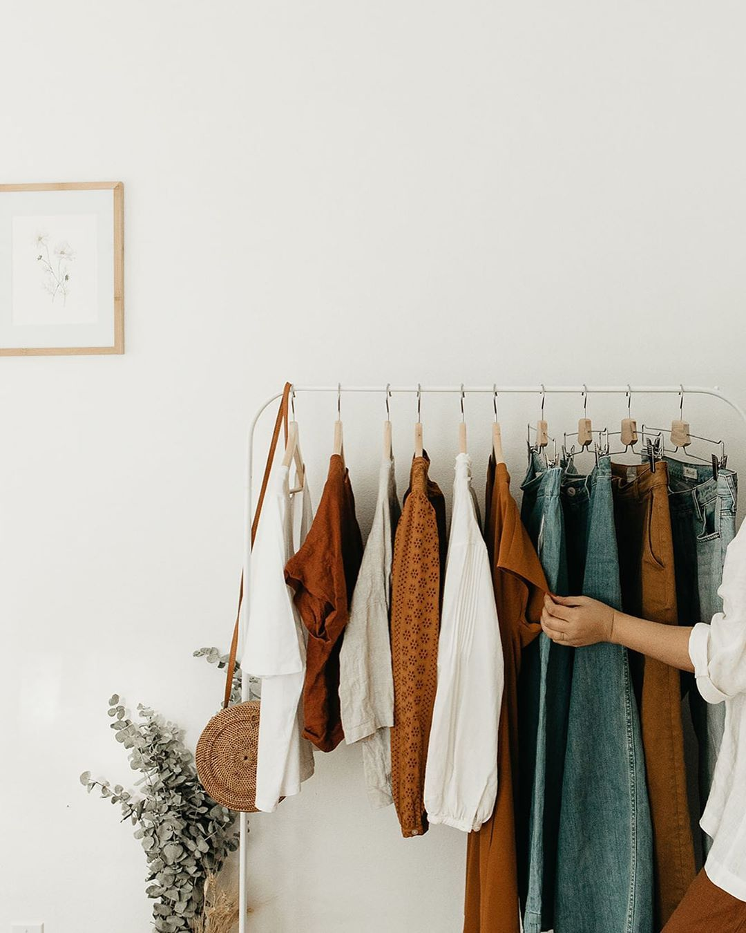 My Favorite Color Palette Fall You Are My Favorite What Colors Are You Adding To Your Fall Closet Stefan Clothing Rack Style Clothing Photography